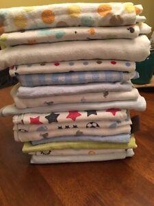 15 Receiving Boy Receiving Blankets