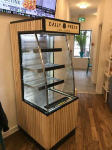 "24"" Open Refrigerated Display Fridge"
