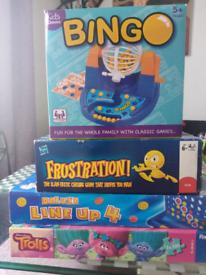 Set of 4 games