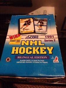 Over 200 Hockey Cards Score 91-92