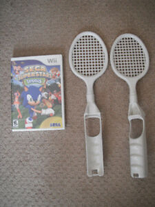 Wii Sega Superstars Tennis Game