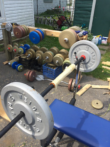 Weights collection