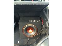 Edge subwoofer EDB12A good condition fully working