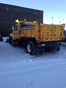 Single axle Plow Truck