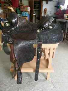 LONG HORN SADDLE  FQHB