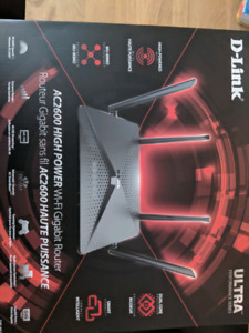 D-Link Wireless AC2600 Dual-Band Gigabit Router ($100)