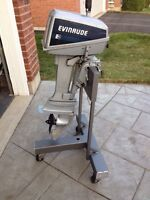 8 hp Evinrude outboard