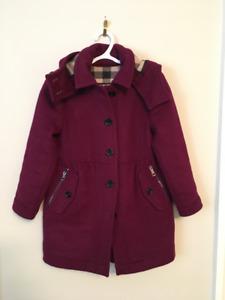 Burberry children girls wool trench coat