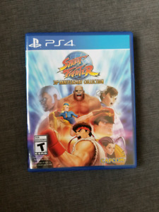 Streetfighter 30th Year Anniversary Edition