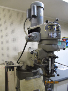 Supermax Milling Machine with accessories