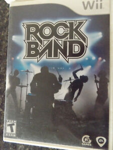 Wii Rock Band & Accessories