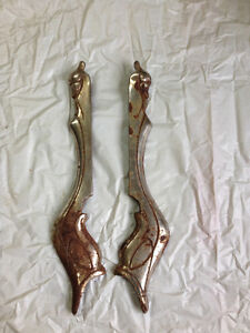 Vintage chrome plated stove accessories