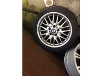 "*Spares* 1x17"" BMW MV1 Alloy 5x120"