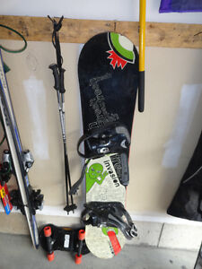 Invasion 16 Snowboard with Bindings