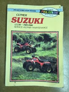 SUZUKI CLYMER 1985 AND UP LT230 Edmonton Edmonton Area image 1