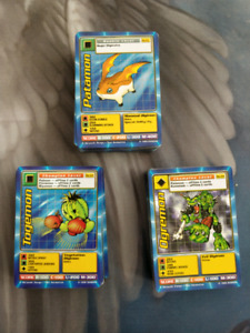 160 Digimon Collection for sale! With HOLOs!