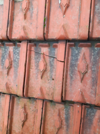Clay roof tiles beauvais