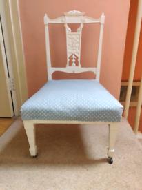 Edwardian Bedroom Chair