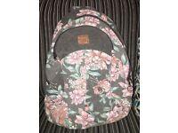 Animal fabric style rucksack