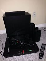 Samsung Surround Sound Package with Blu Ray Player