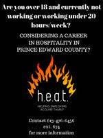 HEAT (Helping Employers Acquire Talent) Prince Edward County