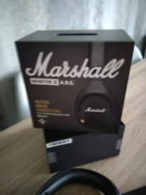 Genuine brand new Marshall monitor 2 anc wireless headphones