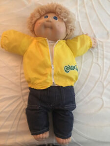 Authentic Cabbage Patch Dolls (set of 3)