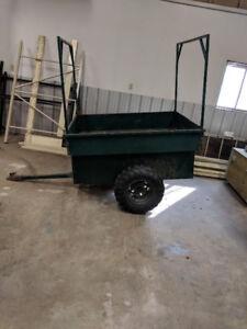 ATV TRAILER WITH BOAT RACKS