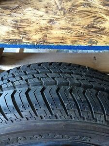 "2 - 14"" motomaster tires and rims"