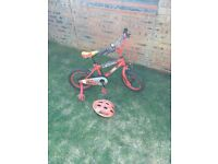 Boys Disney Cars Bike