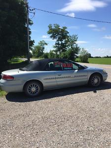 2003 Chrysler Sebring Convertible!