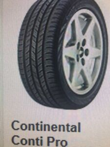 Continental Pro-Contact 245/40 R18 Set $300