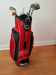 Selling set a women's right handed golf clubs