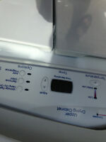 Maytag dryer with upper drying cabinet