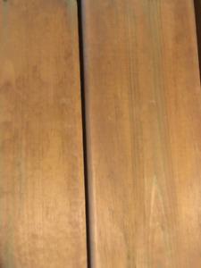 5/4 Brown Pressure Treated Deck Boards