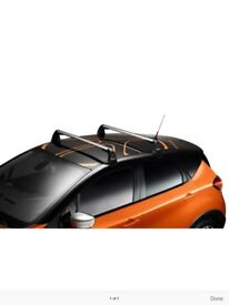 Genuine Renault Captur Aluminium Roof Bars Brand New