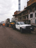 Concrete Line Pump Services
