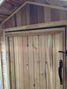 Cedar shed 4x8 Barn Style all cedar NEW!!