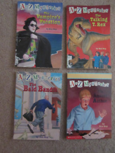 A to Z Mysteries Chapter Books