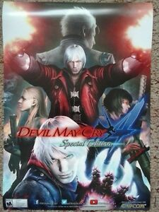 Devil May Cry : Special Edition poster - one sided Kingston Kingston Area image 1