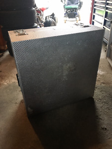 stainless tool case