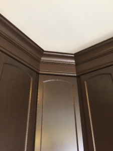 Finish Carpentry:  Crown Mouldings & Trims
