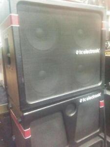 TC ELECTRONIC BH800 HEAD WITH K410 AND K210 CABS - DEMO - PRISTINE CONDITION - CRAZY PRICES - PLEASE CONTACT FOR PRICE
