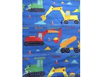 Boy's single duvet cover and pillow case