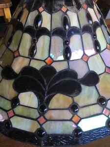 Stained glass hanging lamp Prince George British Columbia image 2
