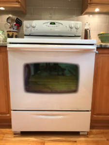 MAYTAG Performa Electric Stove - WHITE