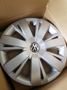 """4 Brand New 16"""" VW Hubcaps"""