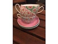 Cath Kidston Provence rose teacups