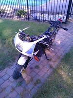 YAMAHA YSR50 WITH DT200 ENGINE PARTING IT OUT OR SELL IT AS IS