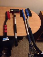 Snowbrushes 5$each